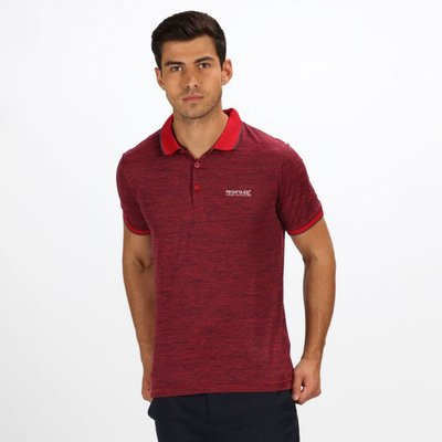 Men's Remex II Jersey Polo Shirt - Classic Red