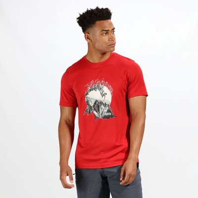 Men's Fingal IV T-Shirt - Classic Red
