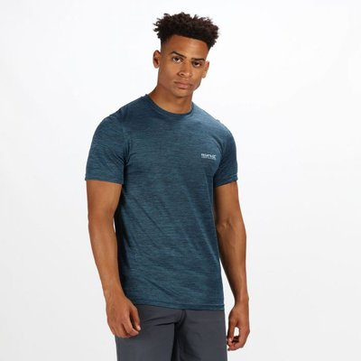 Men's Fingal IV T-Shirt - Majolica Blue Marl