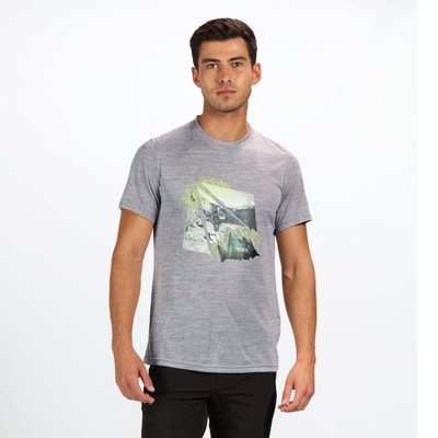 Men's Fingal IV T-Shirt - Rock Grey Marl