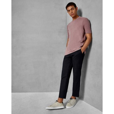 TED BAKER T-shirt In Strick-optik Mit Rundhalsausschnitt