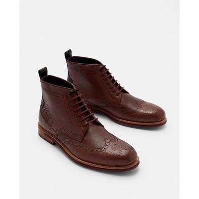 TED BAKER Ankle Boots Im Brogue-stil