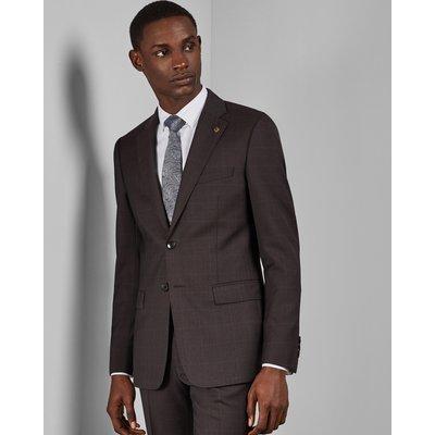 Debonair Subtle Check Wool Jacket