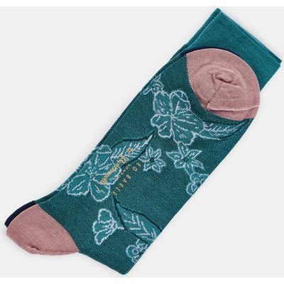 Floral Pantherella Socks