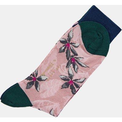 Flower And Leaf Pantherella Socks