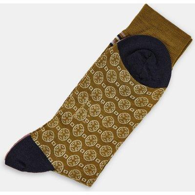 Geometric Pantherella Socks