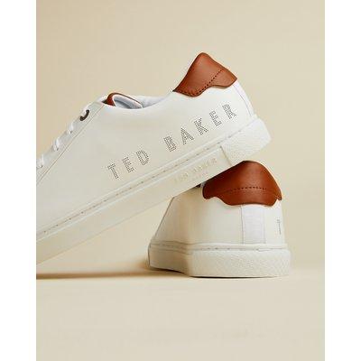TED BAKER Sneakers Aus Leder Mit Perforationen Und Logo