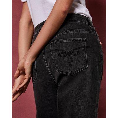 TED BAKER Boyfriend-jeans Mit Nieten Und Destroyed-effekt