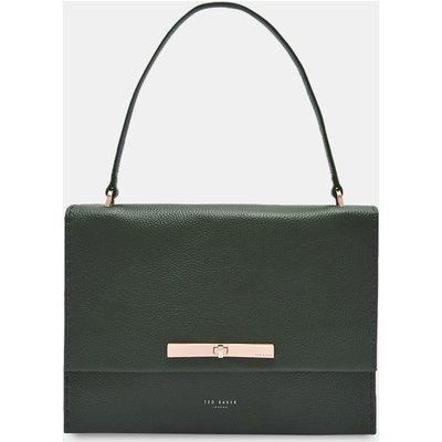 Concertina Leather Shoulder Bag