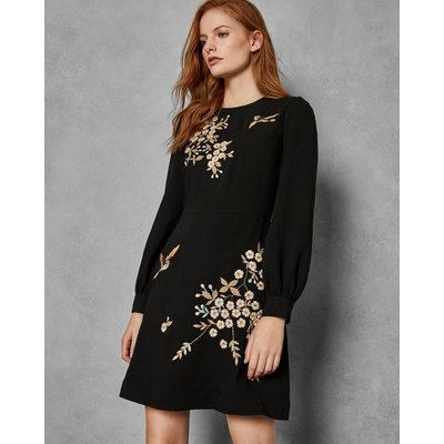 Graceful Embroidered Dress