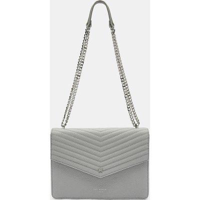 Leather Envelope Cross Body Bag