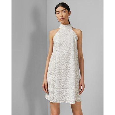 Daisy Lace Halter Dress