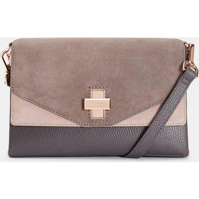 Twist Clasp Cross Body Bag
