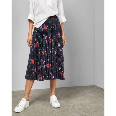 Hedgerow Pleated Midi Skirt