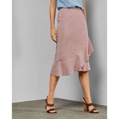 Layered Striped Skirt