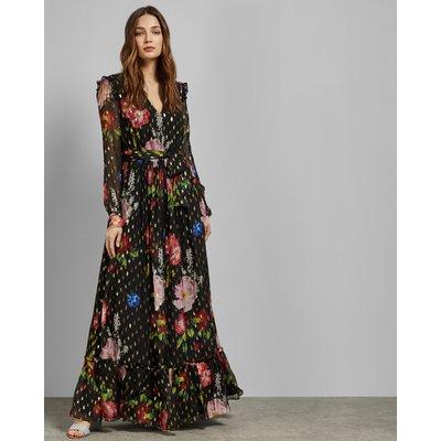 Tiered Hem Maxi Dress