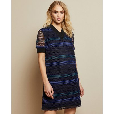 Lace A Line Tunic Dress