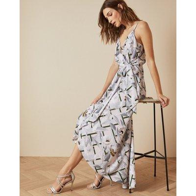 Everglade Sleeveless Wrap Dress