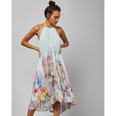 Hanging Gardens Pleated Midi Dress