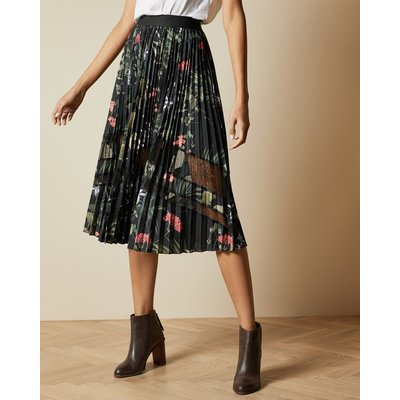 Highland Pleated Lace Skirt