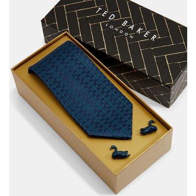 TED BAKER Set Mit Krawatte Und Manschettenknöpfen