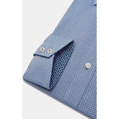 TED BAKER Endurance Baumwollhemd Mit Rauten-punkte-print