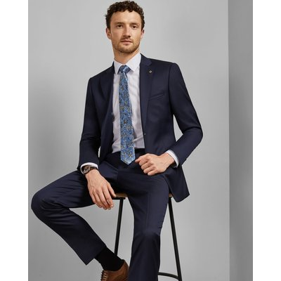 Debonair Plain Wool Suit Jacket