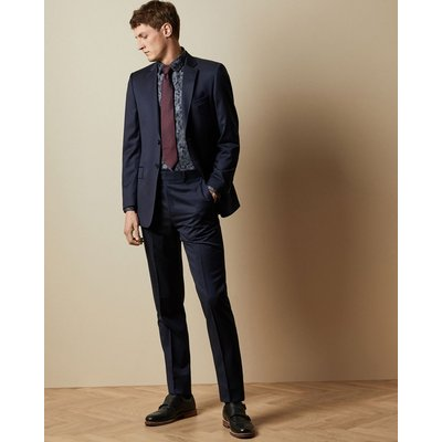 Debonair Classic Fit Wool Trousers
