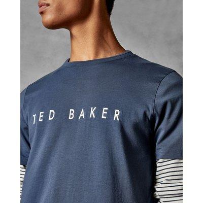 TED BAKER Baumwoll-t-shirt Mit Logo