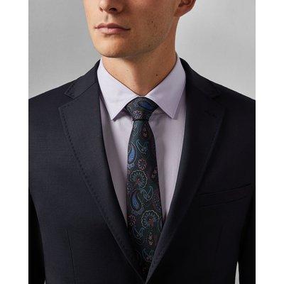 TED BAKER Krawatte Aus Seide Mit Paisley-print