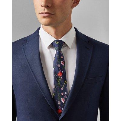 TED BAKER Krawatte Aus Seide Mit Blumen-print