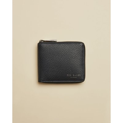 Leather Zip-up Wallet