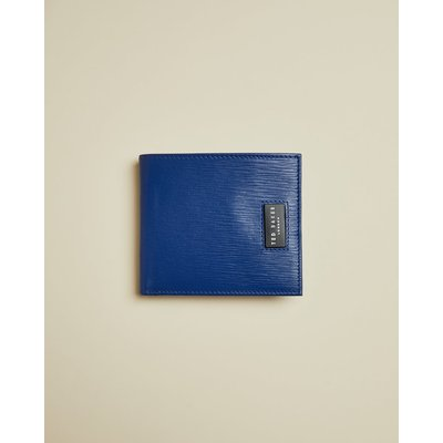 Woodgrain Leather Bifold Wallet