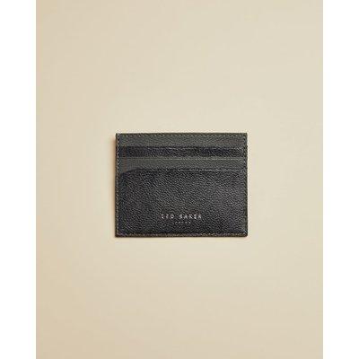 Leather Jacquard Cardholder