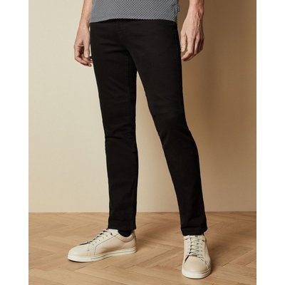 TED BAKER Tall Schwarze Jeans Mit Schmal Zulaufendem Bein