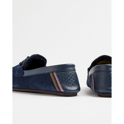 TED BAKER Moccasin Leather Slippers