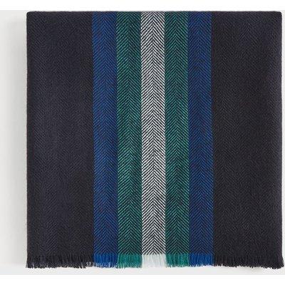 TED BAKER Herringbone Stripe Design Scarf