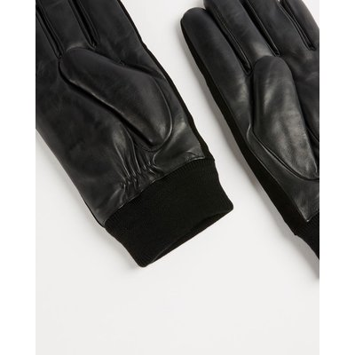 TED BAKER Suede And Leather Gloves | TED BAKER SALE