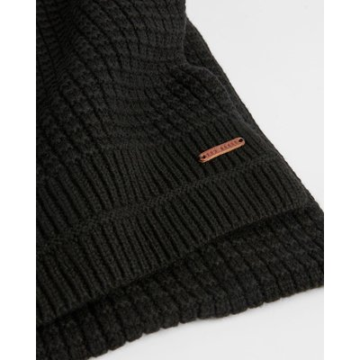 TED BAKER Plain Ribbed Scarf