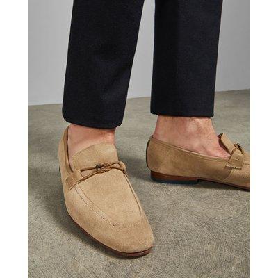 TED BAKER Dekonstruierte Veloursleder-loafer