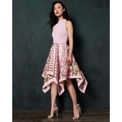 Harmony Burnout Stripe Dress