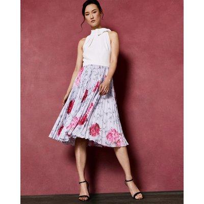 Babylon Pleated Skirt Dress