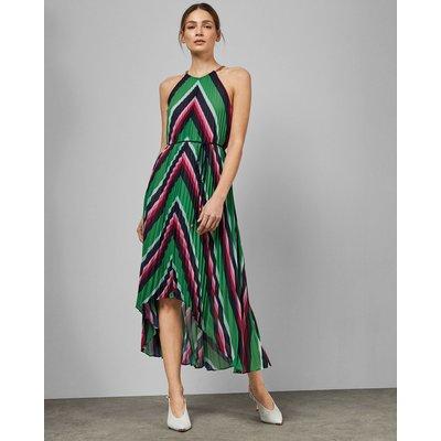 Directional Stripe Maxi Dress