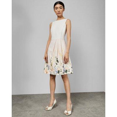 Elegant Full Skirt Dress