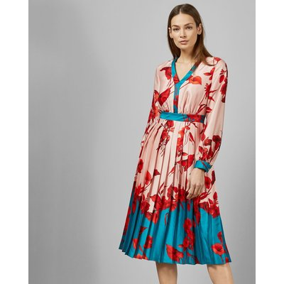 Fantasia V Neck Midi Dress