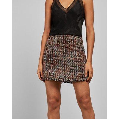 Boucle A-line Skirt
