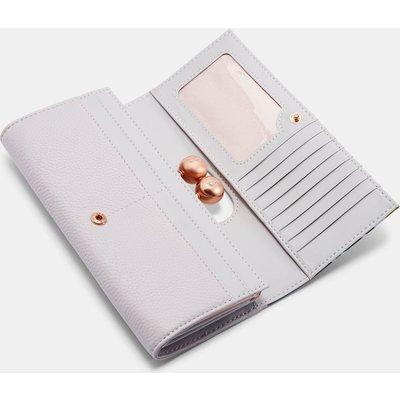 TED BAKER Leder-portemonnaie Mit Pistachio-print