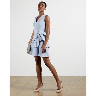Tiered Sleeveless Dress