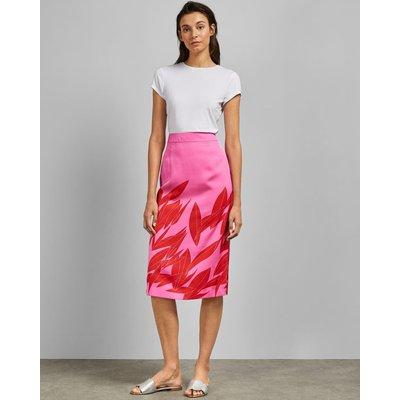 Sour Cherry Midi Skirt