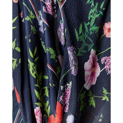 TED BAKER Langer Schal Mit Hedgerow-print